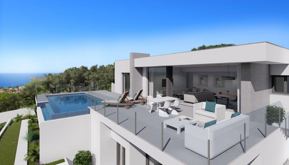 3 bedroom Villa in Benitachell - New build in Medvilla Spanje