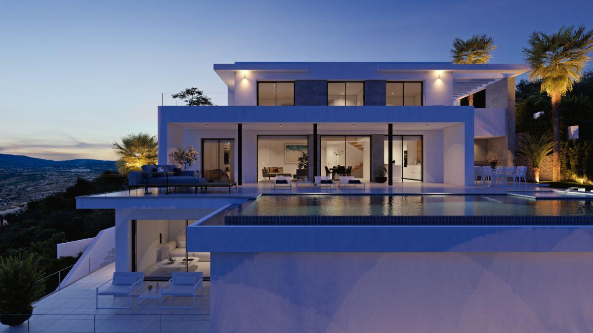 New build Villa in Cumbre Del Sol Cumbre Del Sol