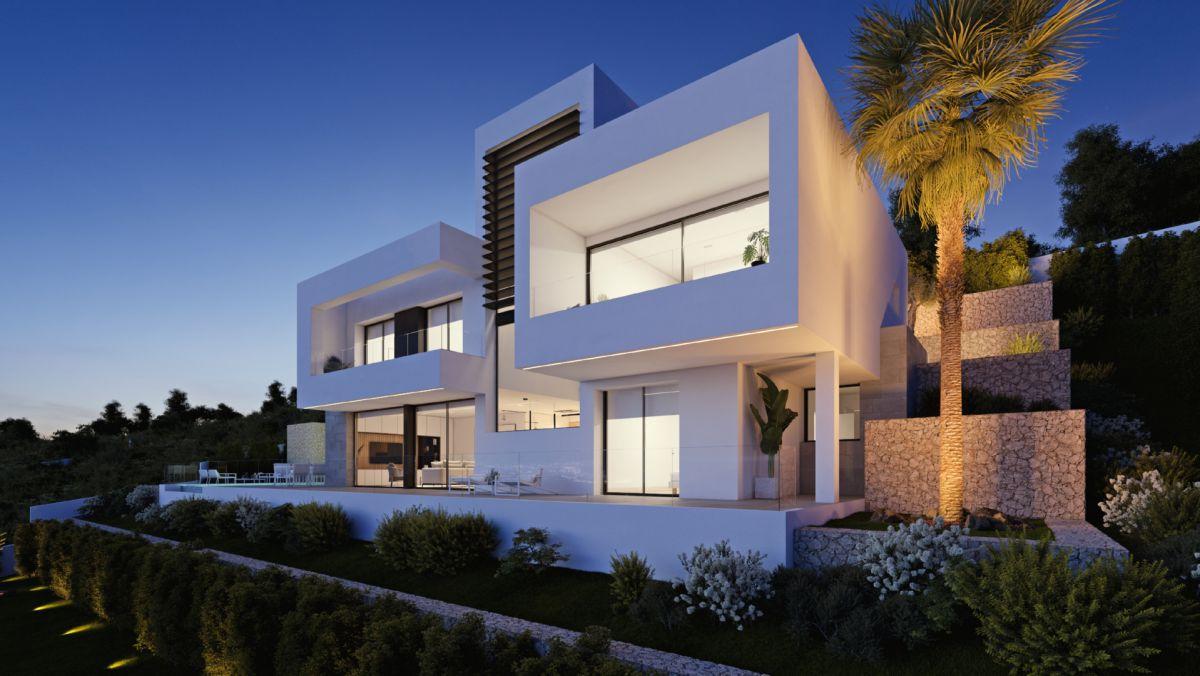New build Villa in Altea Altea la Vella