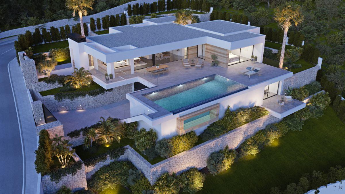 New build Villa in Benissa Raco de Galeno