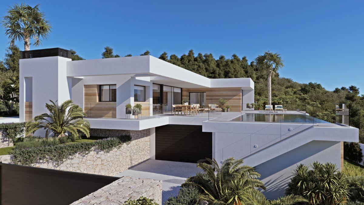 Venta. Villa Moderna en Benissa