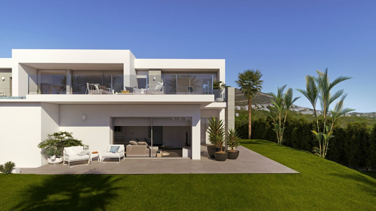 4 bedroom Villa in Benitachell - New build in Medvilla Spanje