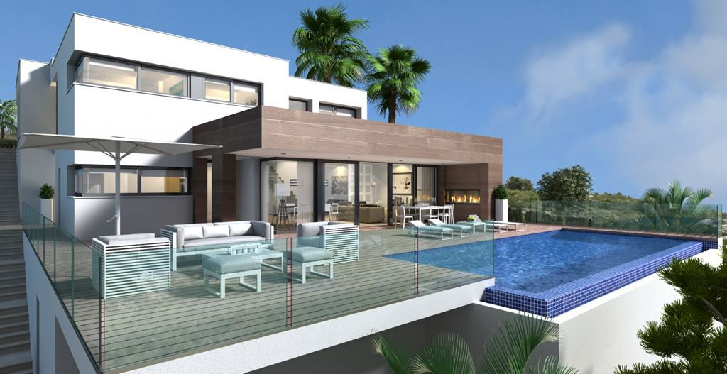 3 bedroom Villa in Benitachell - New build in Medvilla Spanje