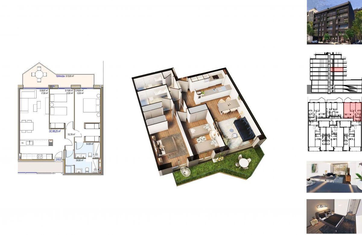 Pis en venda a Andorra la Vella, 2 habitacions, 86 metres