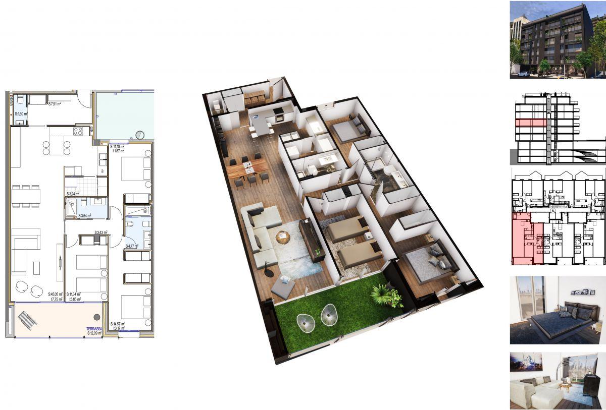 Pis en venda a Andorra la Vella, 3 habitacions, 136 metres