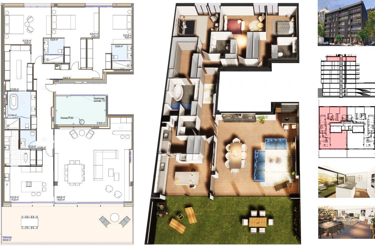 Àtic en venda a Andorra la Vella, 3 habitacions, 264 metres