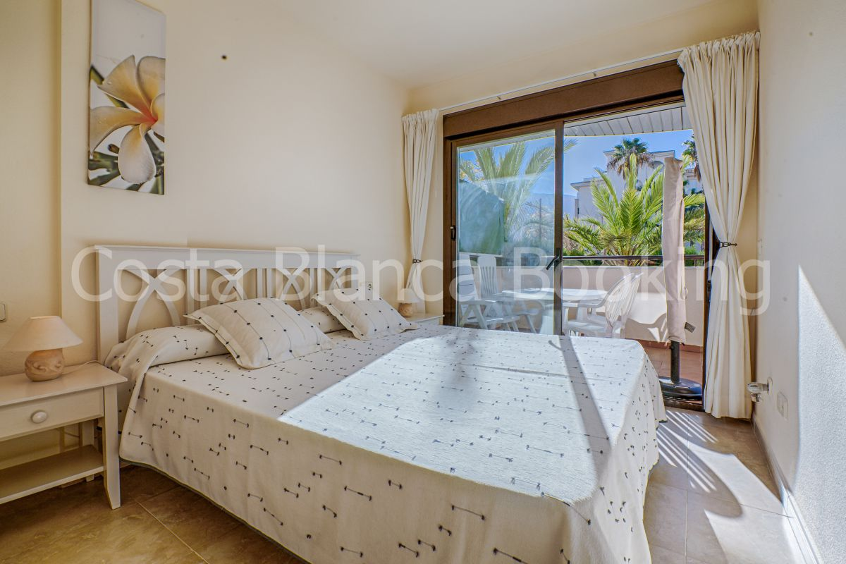 BEAUTIFUL GROUNDFLOOR APARTMENT WITH PRIVATE PLOT IN THE CENTER OF ALBIR