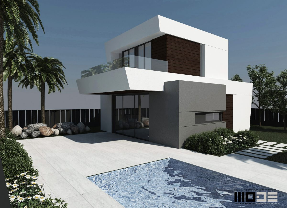 MODERNE VILLAS I POLOP MED SEA VIEWS