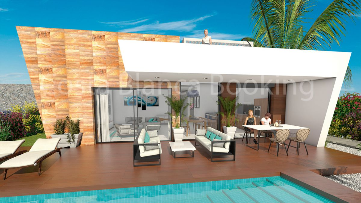 SOLO 3 VILLAS DISPONIBLES MODERNAS EN UNA ZONA AGRADABLE
