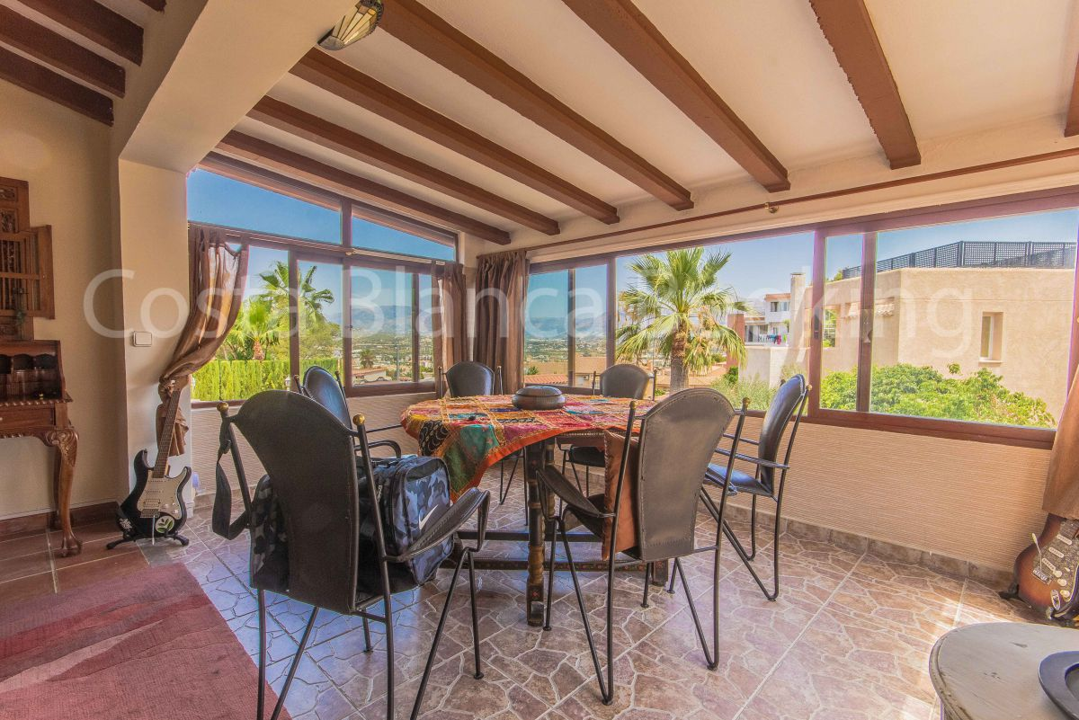 FANTASTIC VILLA IN ALBIR WITH  POOL, GARDEN, TERRACES, BBQ, CHILLOUT AREA AND MUCH MORE