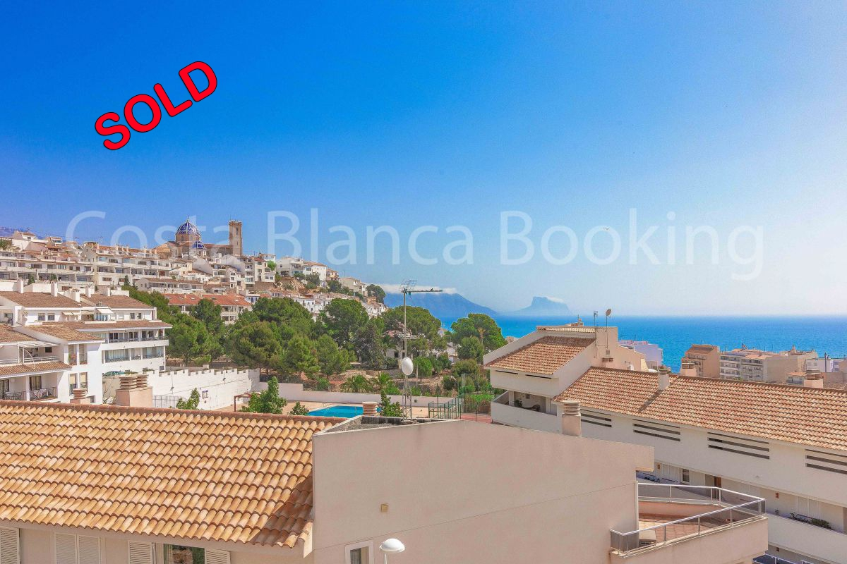 PENTHOUSE DUPLEX WITH SEAVIEWS IN ALTEA