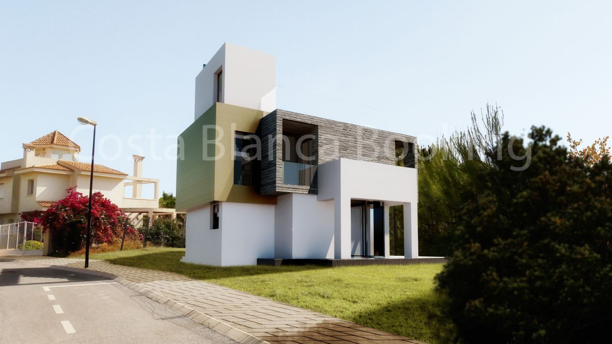 MODERN STYLE VILLAS WITH FANTASTIC MOUNTAIN AND SEA VIEWS