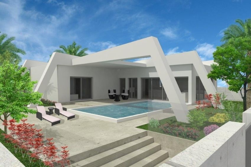 MODERN VILLAS UNDER CONSTRUCTION
