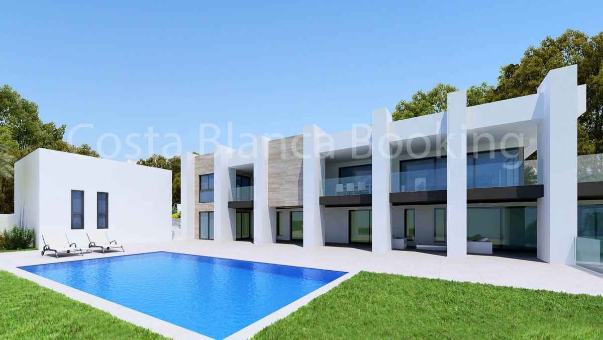 VILLAS OF NEW CONSTRUCTION IN SIERRA CORTINA
