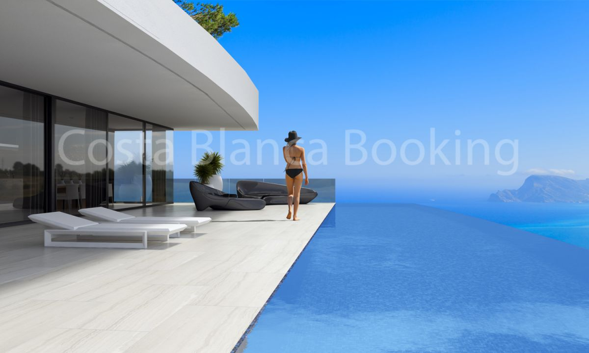 VILLA NEW CONSTRUCTION IN ALTEA HILLS