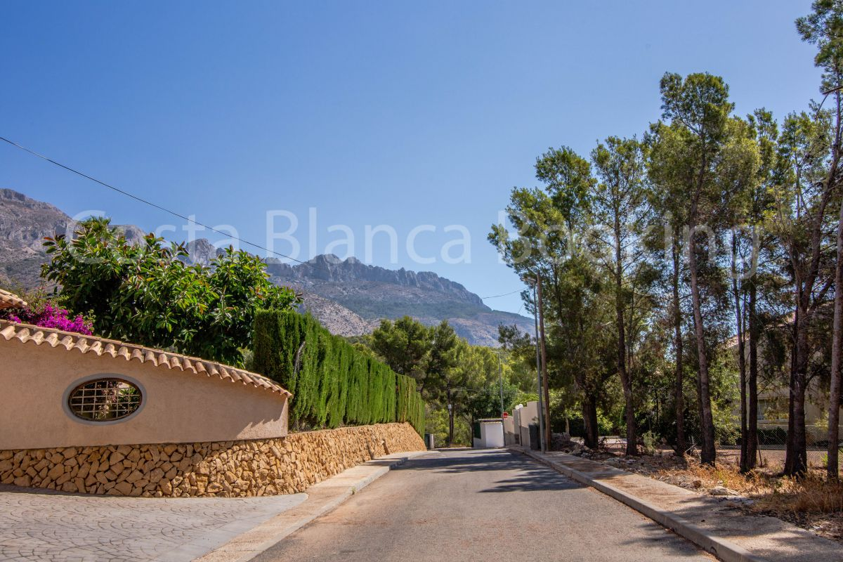 PLOT IN ALTEA LA VELLA
