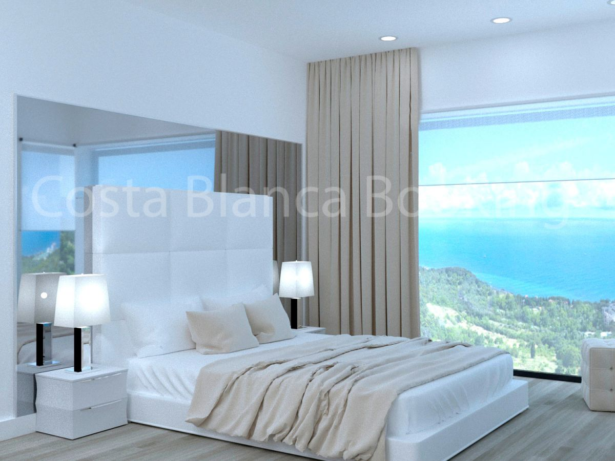 FANTASTIC VILLAS WITH PANORAMA VISION TO THE SEA