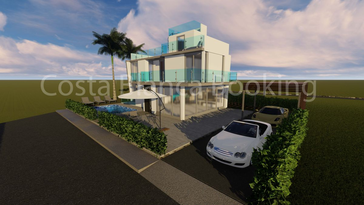 MODERN AND INDEPENDENT VILLA WITH SEA VIEWS