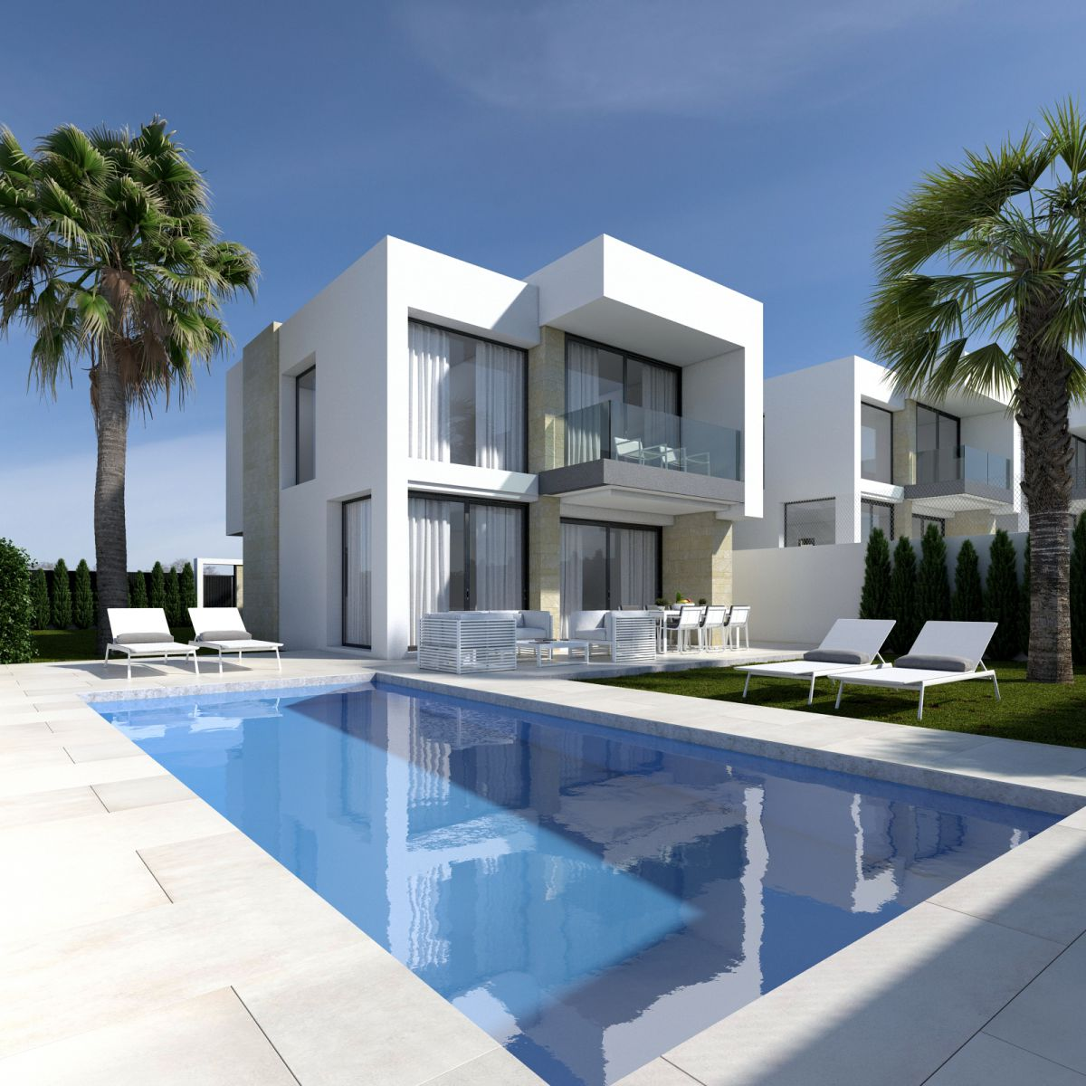 INDEPENDENT AND MODERN VILLA WITH POOL