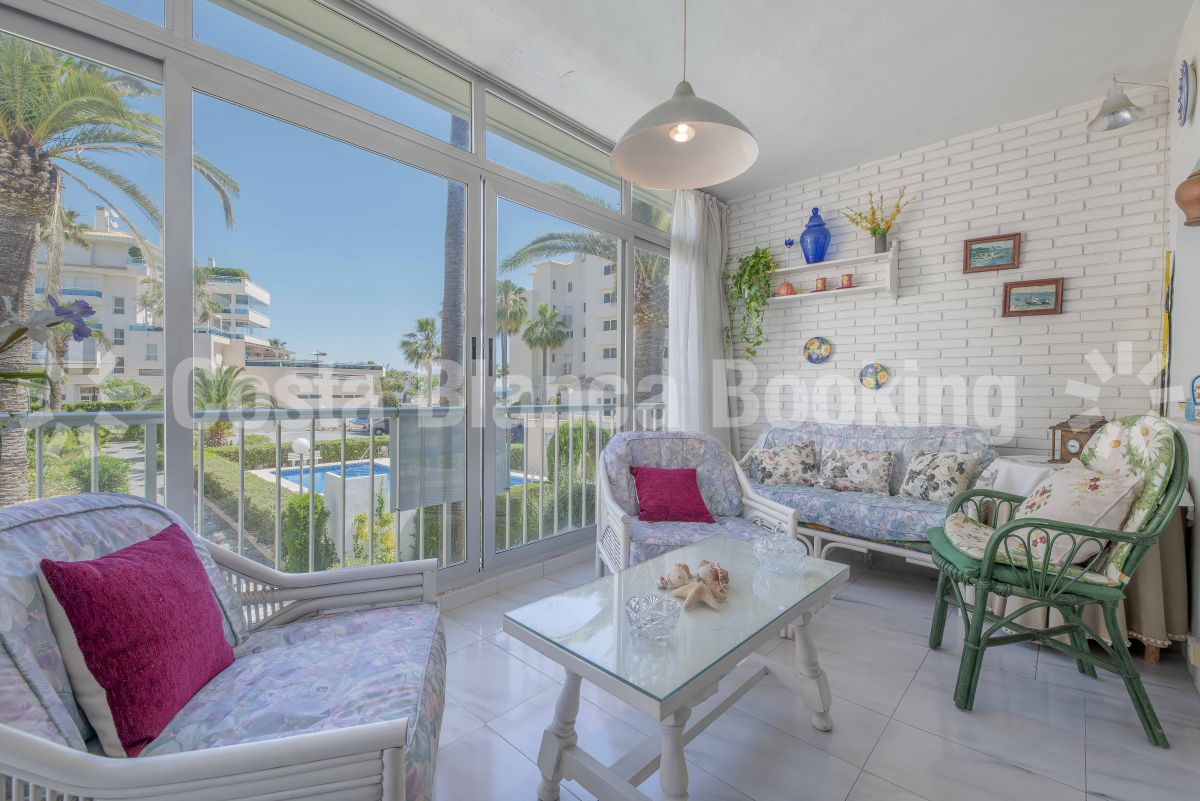 APARTMENT WITH TWO BEDROOMS ONE STEP FROM THE BEACH