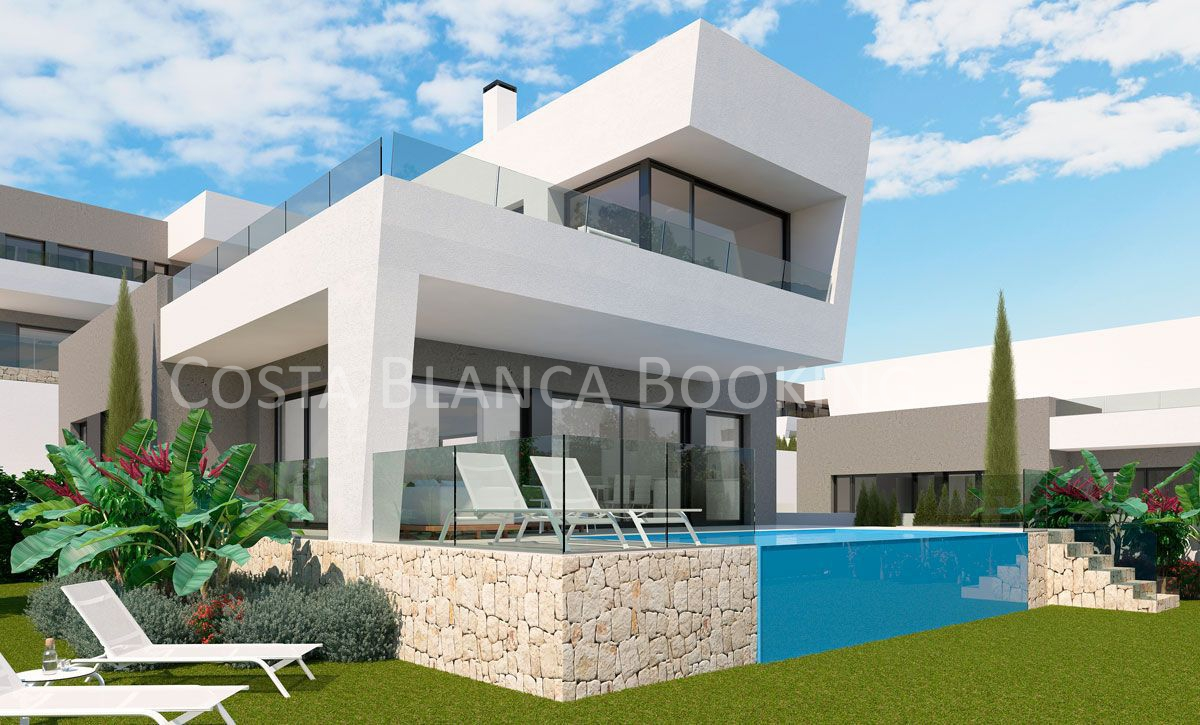 NEW PROJECT OF EXCLUSIVE VILLAS IN THE POPULAR AREA OF POLOP