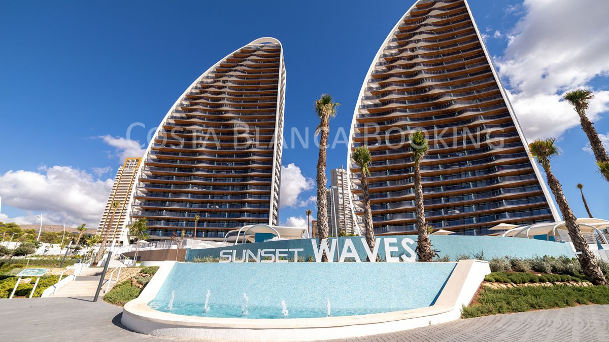 APARTMENTS WITH SEA VIEWS FACING THE PONIENTE BEACHFRONT