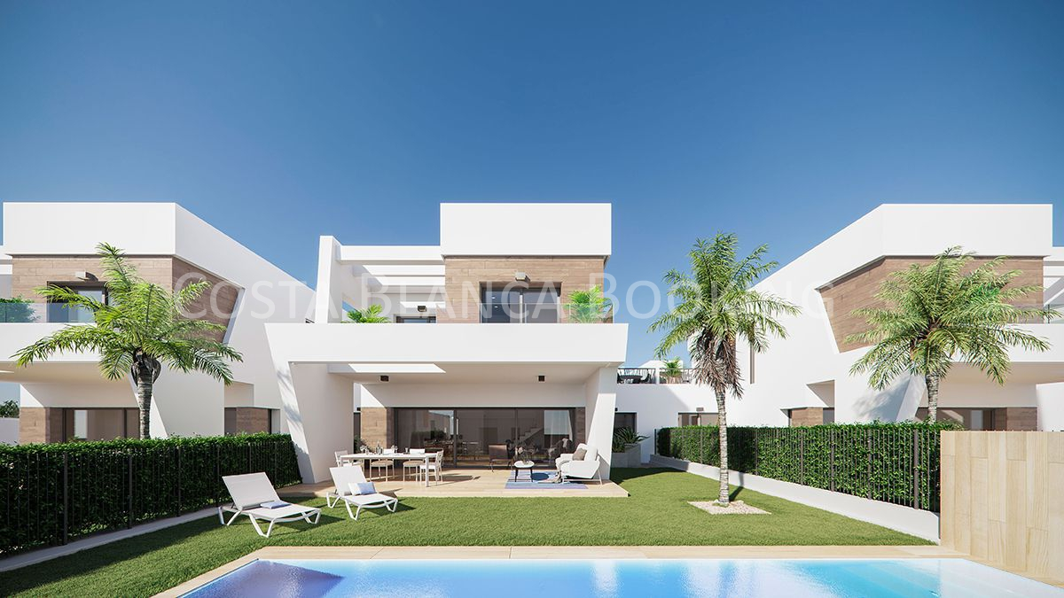 MODERN VILLAS WITH BEATIFUL VIEWS