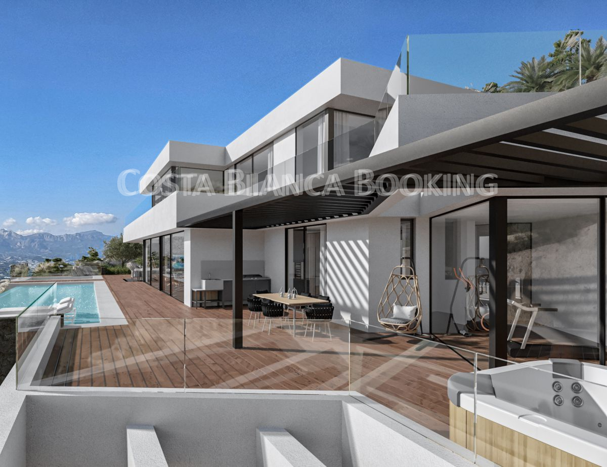 LUXURY VILLA GUEDES IN ALTEA HILLS NEW CONSTRUCTION