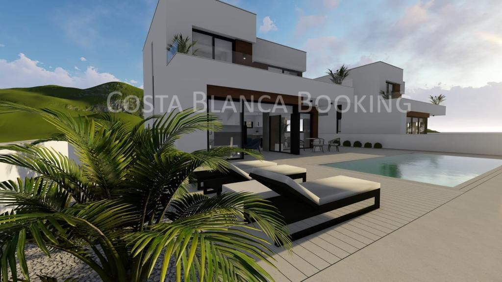 NEW CONSTRUCTION  AND LAST VILLA AVAILABLE IN BALCON DE FINESTRAT