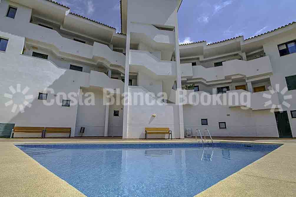 PENTHOUSE IN ALTEA LA VELLA WITH VIEWS TO THE MOUNTAIN.