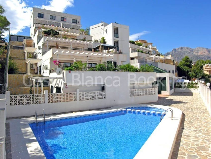 DUPLEX APARTAMENT WITH 2 TERRACES AND NICE PANORAMIC VIEWS