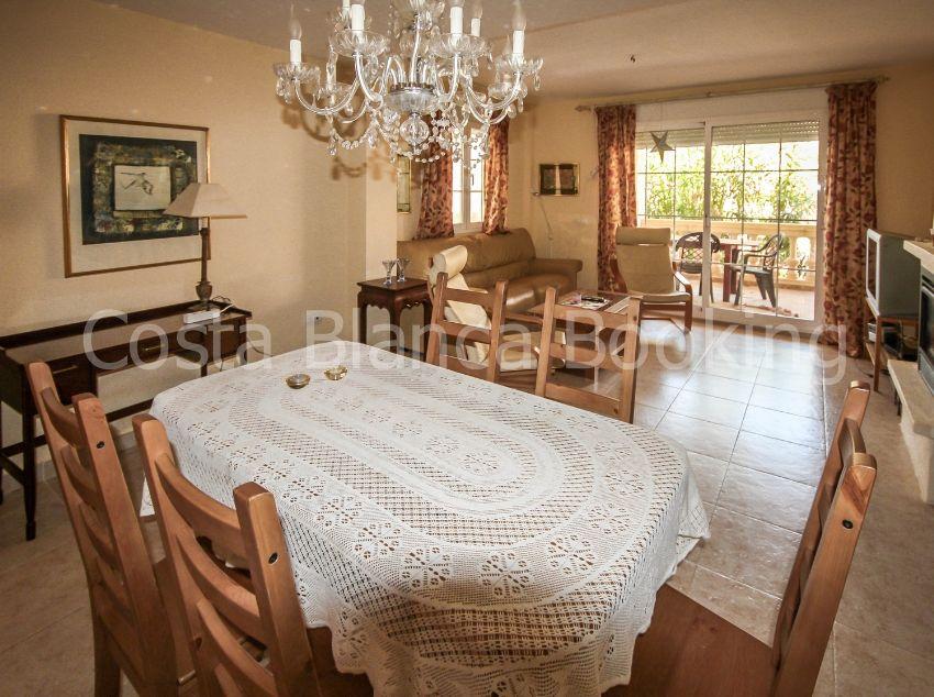 SPACIOUS TERRACED CORNER HOUSE IN ALBIR. PRIVATE POOL.