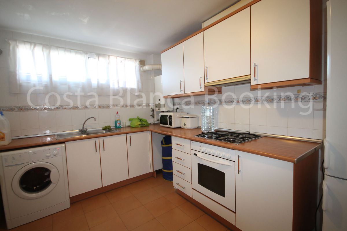 Very nice apartment central to Alfaz del pi and with two bedrooms.