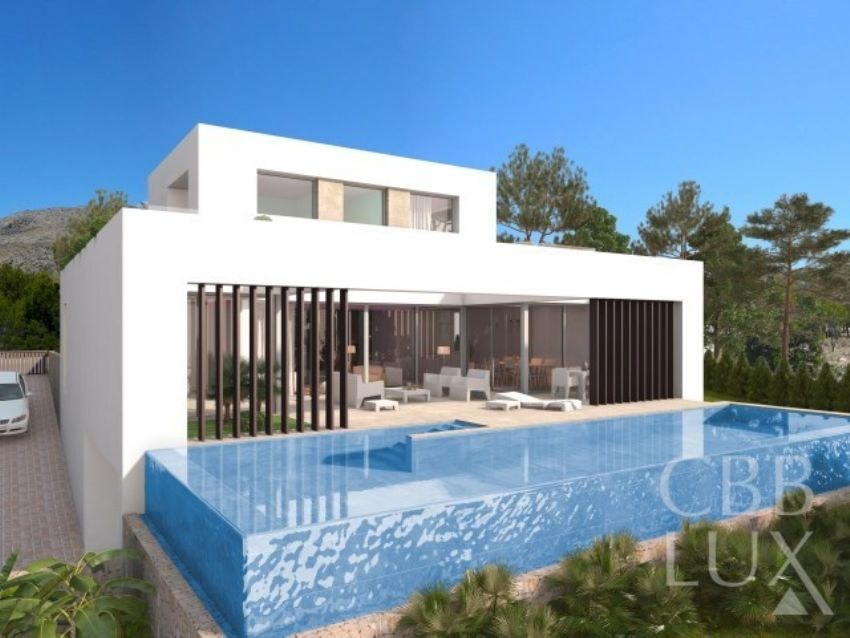 NEW CONSTRUCTION OF DETACHED MODERN VILLAS IN SIERRA CORTINA