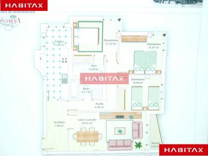 Piso en venta con 118 m2, 3 dormitorios  en pantoja - vista alegre (Za