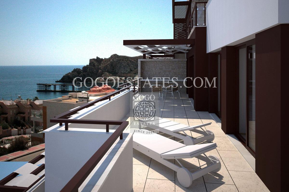 Zeezicht woningen in Aguilas te koop