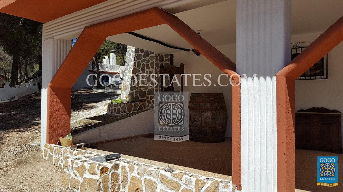 Spectaculair landgoed te koop in Castalla-Xorret del Catí, Alicante.