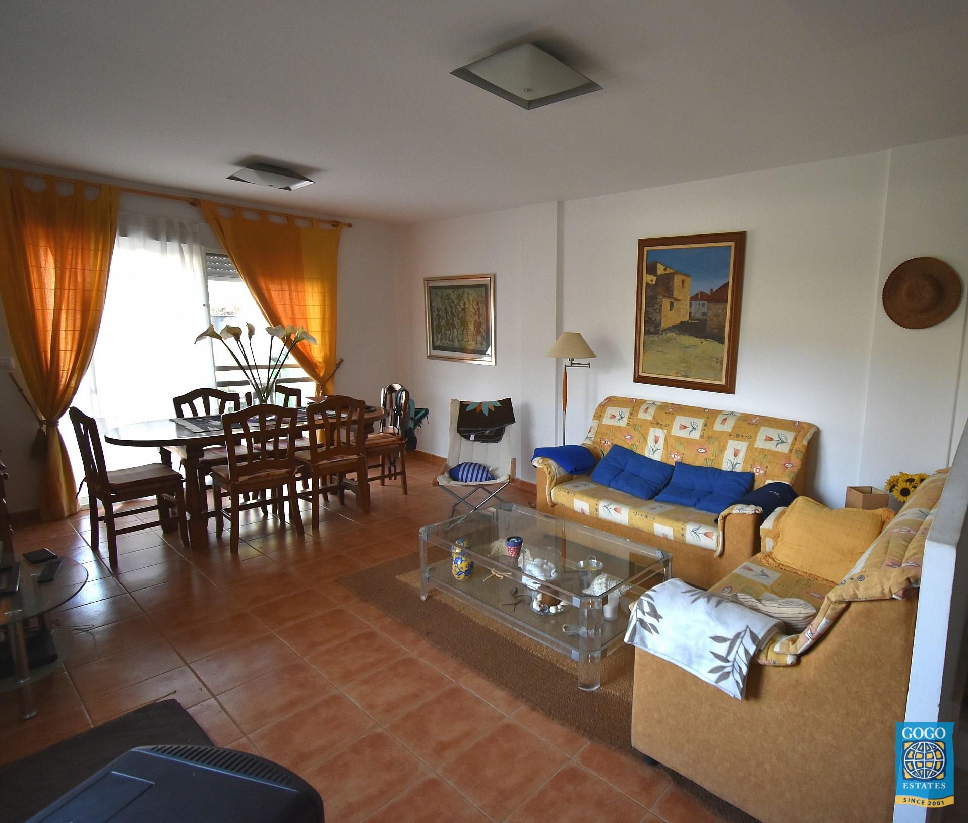 Duplex te huur met garage in Águilas Murcia