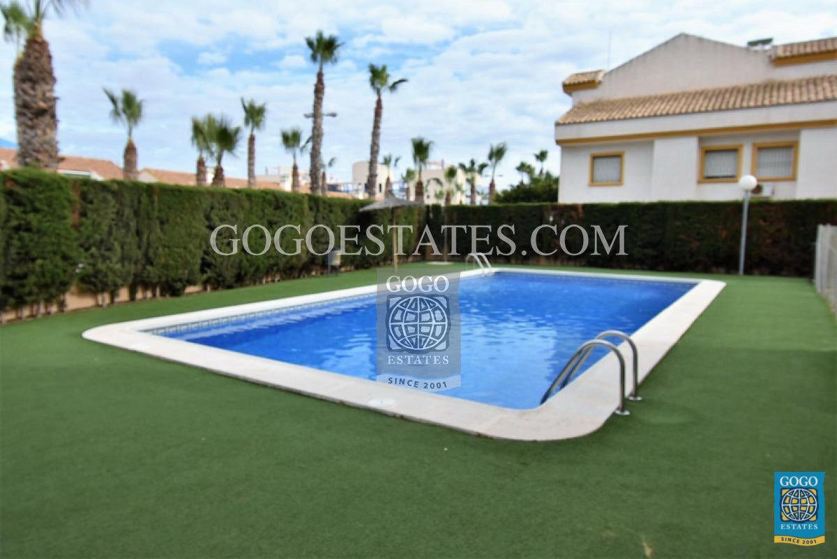 Appartement te huur in Cabo Roig, Orihuela Costa.