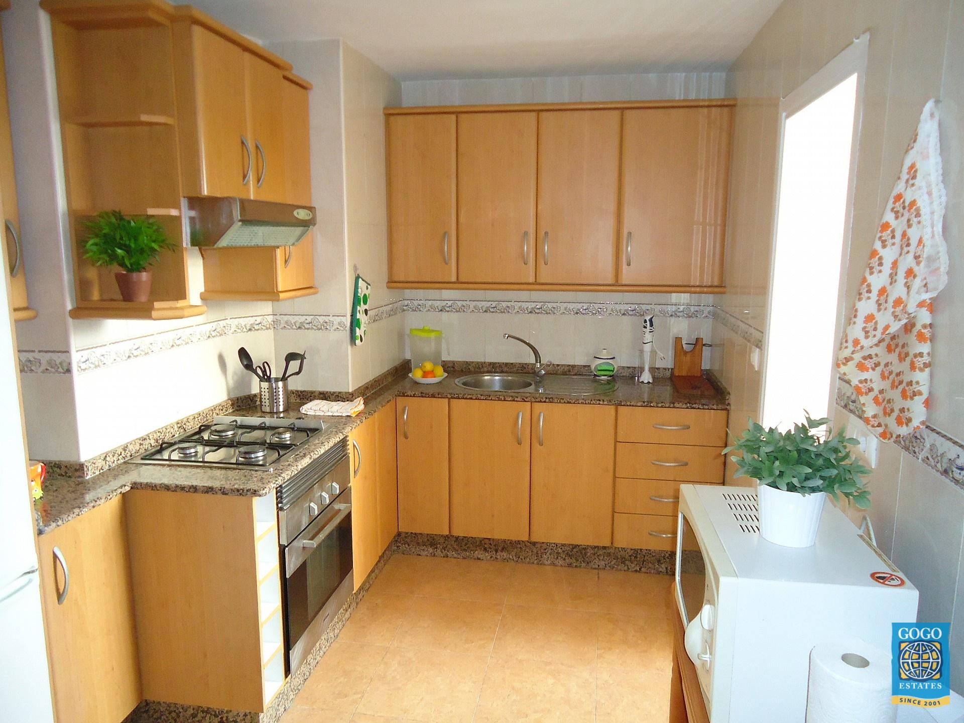 Appartement te huur Eerste lijn met uitzicht op zee in Águilas Murcia