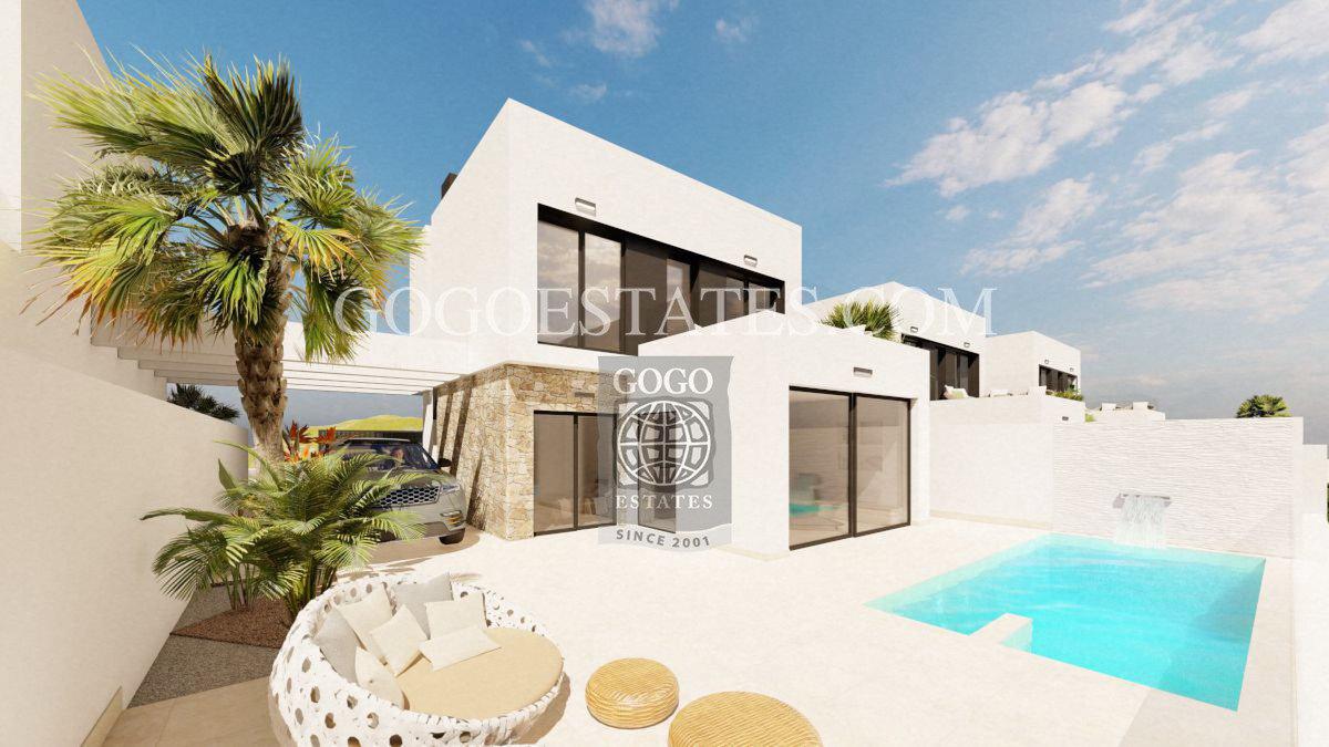 Vrijstaande villa in Águilas - Nieuwbouw
