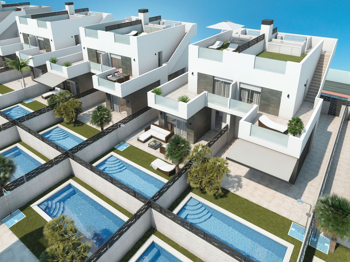 Vrijstaande villa in Rojales - Nieuwbouw
