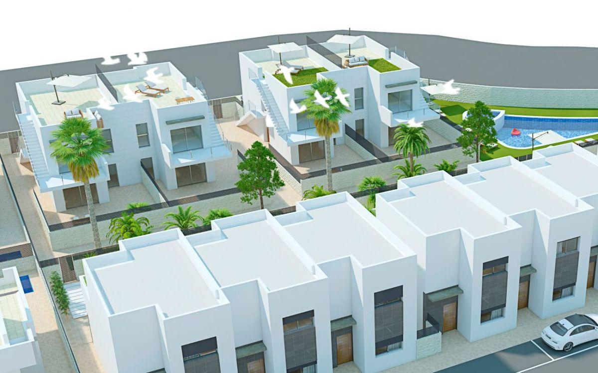 Rijwoning in Rojales - Nieuwbouw