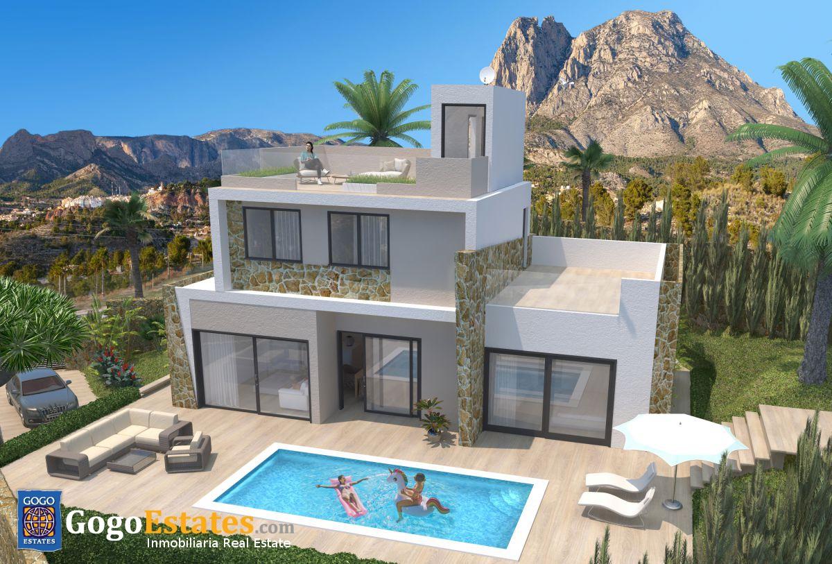 Vrijstaande villa in Finestrat - Nieuwbouw