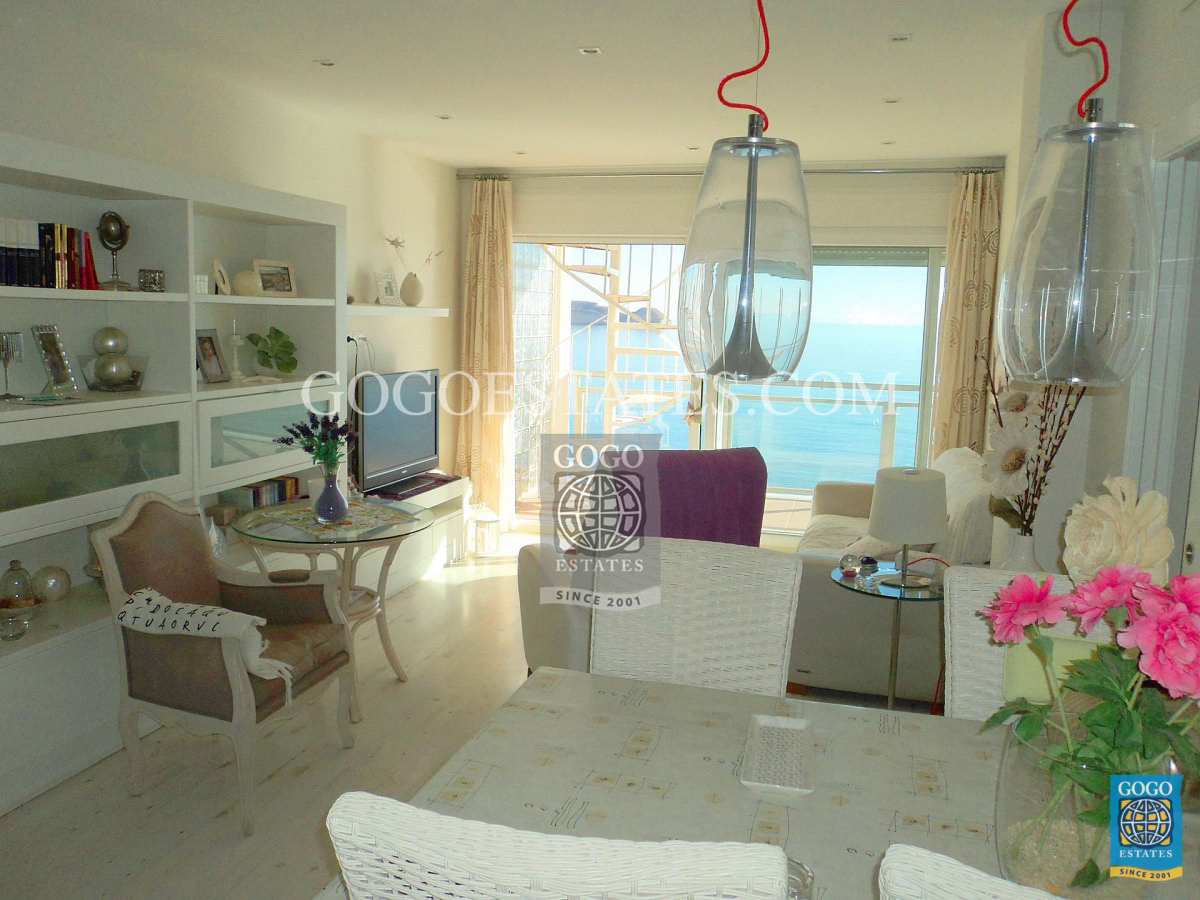 3 slaapkamer appartement met eerste lijn zeezicht en San Juan de Terreros