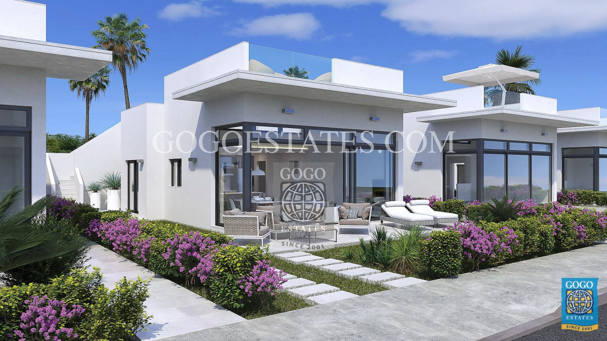 Moderne villa's golf Mazarrón