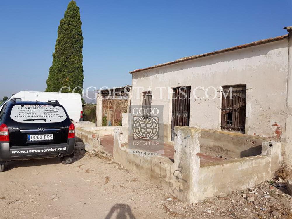 Grondstuk in Almoradi - Bestaande bouw
