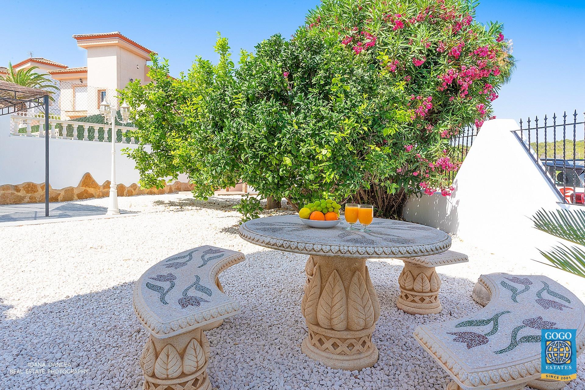 Traditionele maar moderne Spaanse Villa