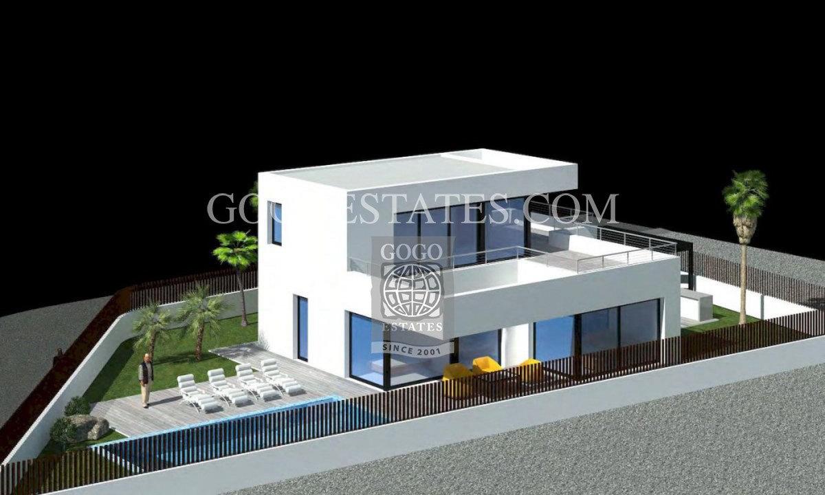 Vrijstaande villa in Calpe - Bestaande bouw