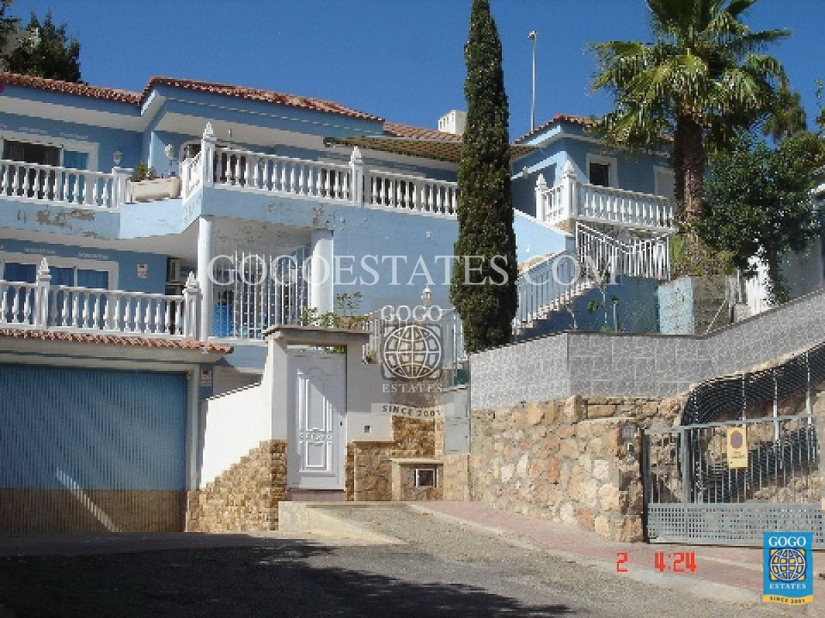 Grote individuele luxe woning in Aguilas